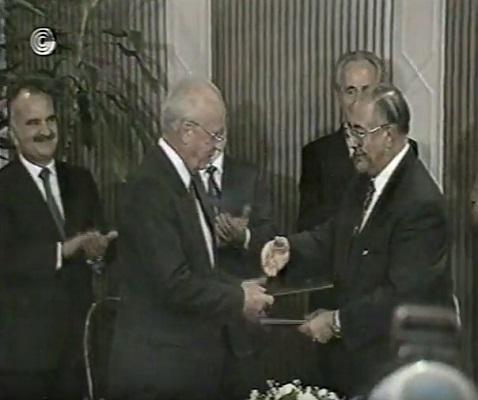 Yitzhak Rabin in Jordan